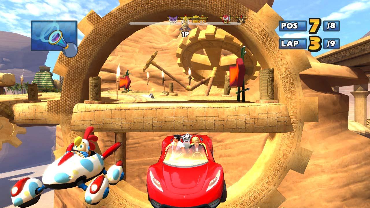 Sonic et Sega All Stars Racing s'illustre | Xbox One ...