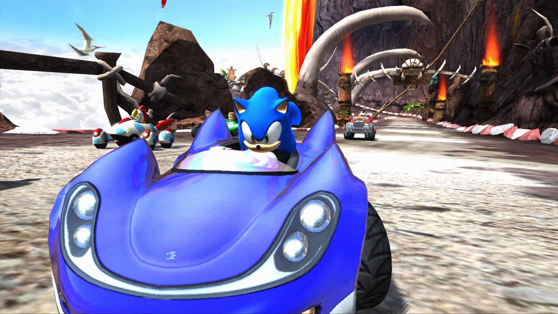 Sonic & Sega All-Stars Racing s'illustre | Xbox One - Xboxygen