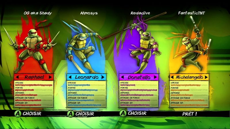 Test tmnt turtles in time re shelled xbox one xboxygen - Rat tortue ninja nom ...