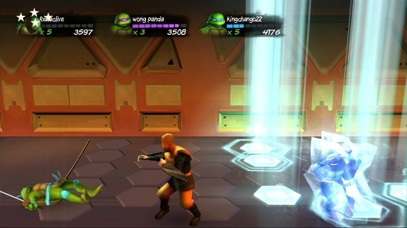 Test - TMNT : Turtles In Time Re-shelled