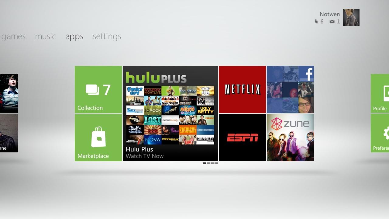 Nouvelle interface Xbox 360 XboxDashboard5