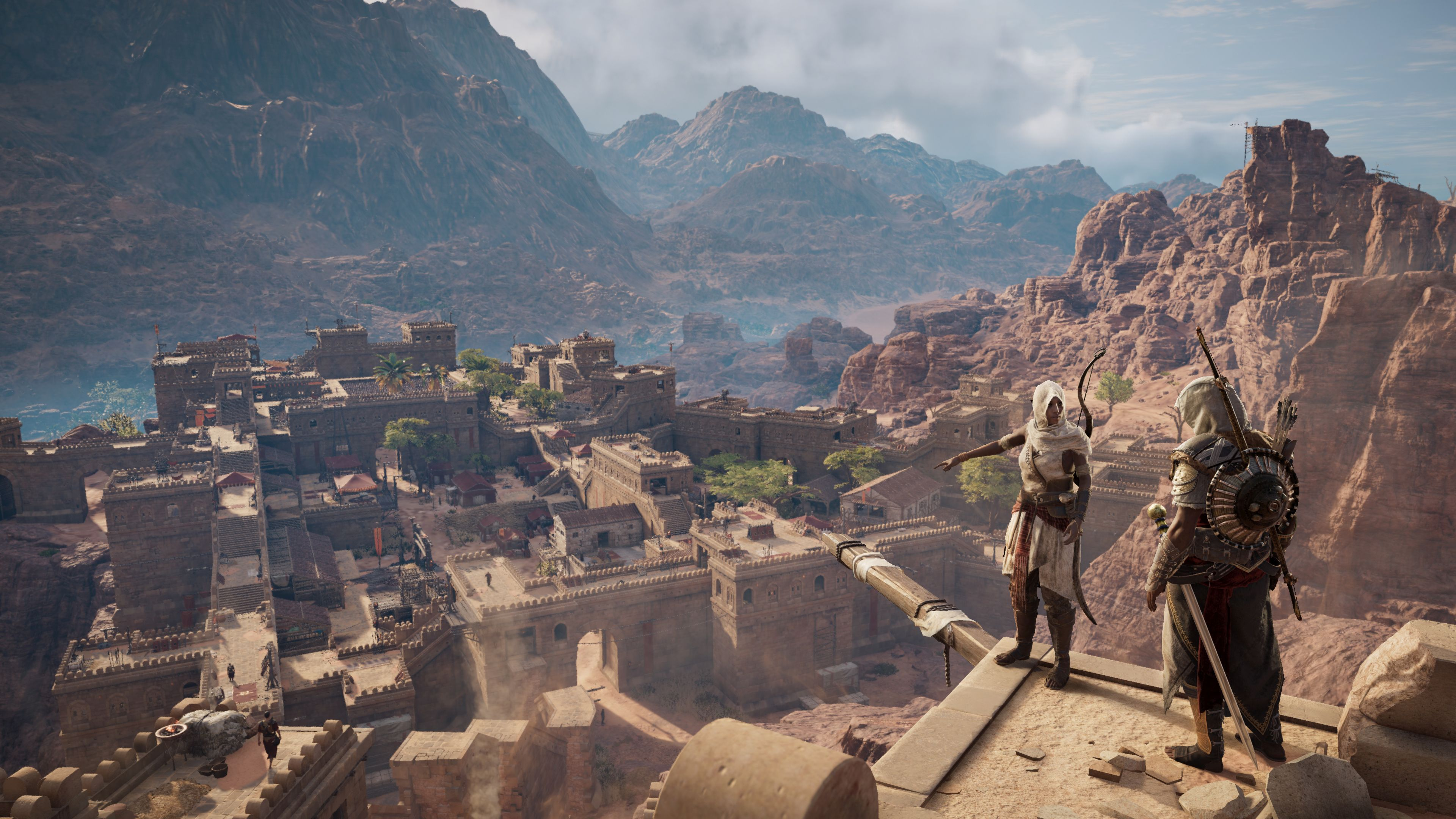 L'extension The Hidden Ones arrive la semaine prochjaine — Assassin's Creed Origins
