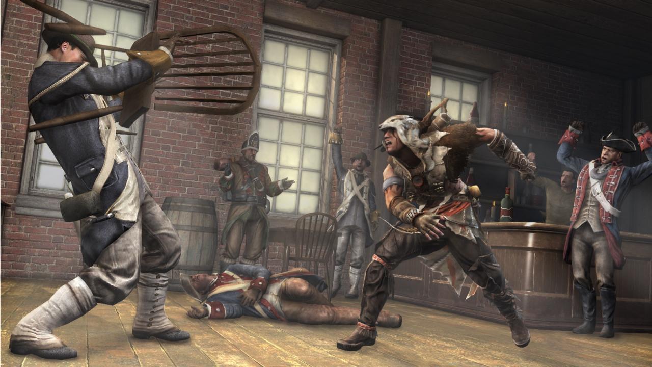 Assassin's Creed 3 : Episode Trahison en vidéo et images ...