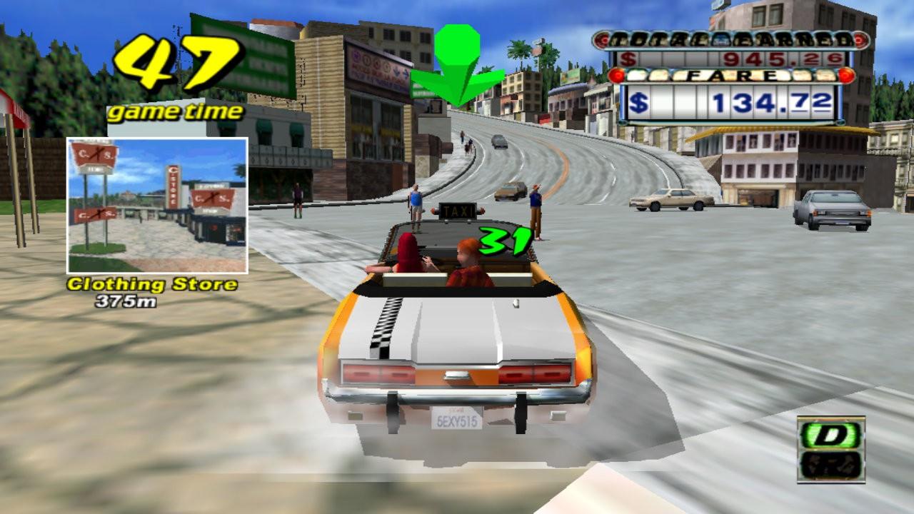 Test - Crazy Taxi