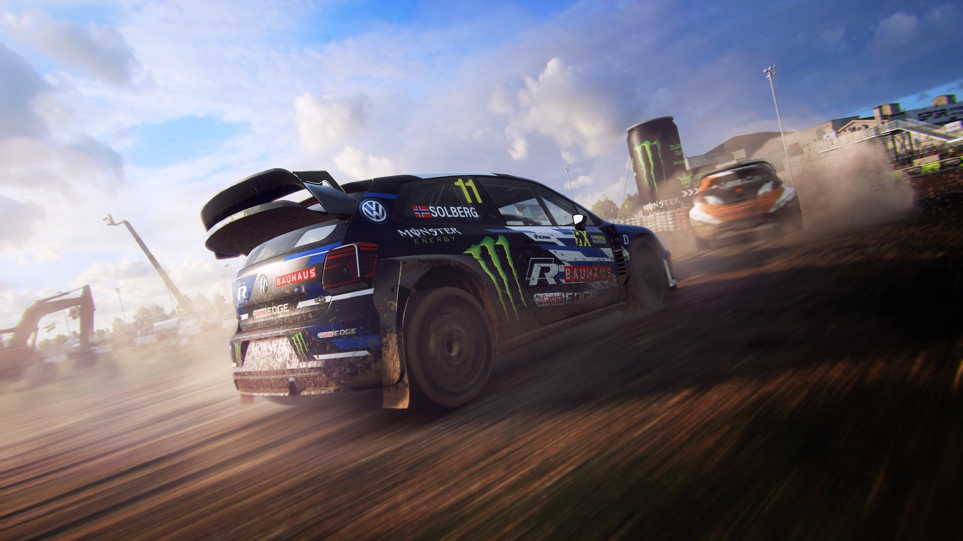 dirt rally 2 0 une vid o mettant le championnat officiel. Black Bedroom Furniture Sets. Home Design Ideas