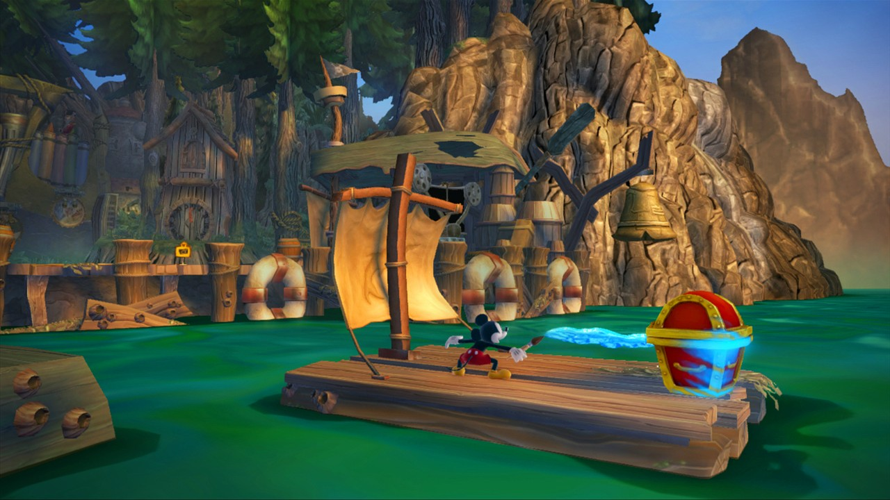 Disney Epic Mickey 2 Gameplay Musique Et Images Xbox