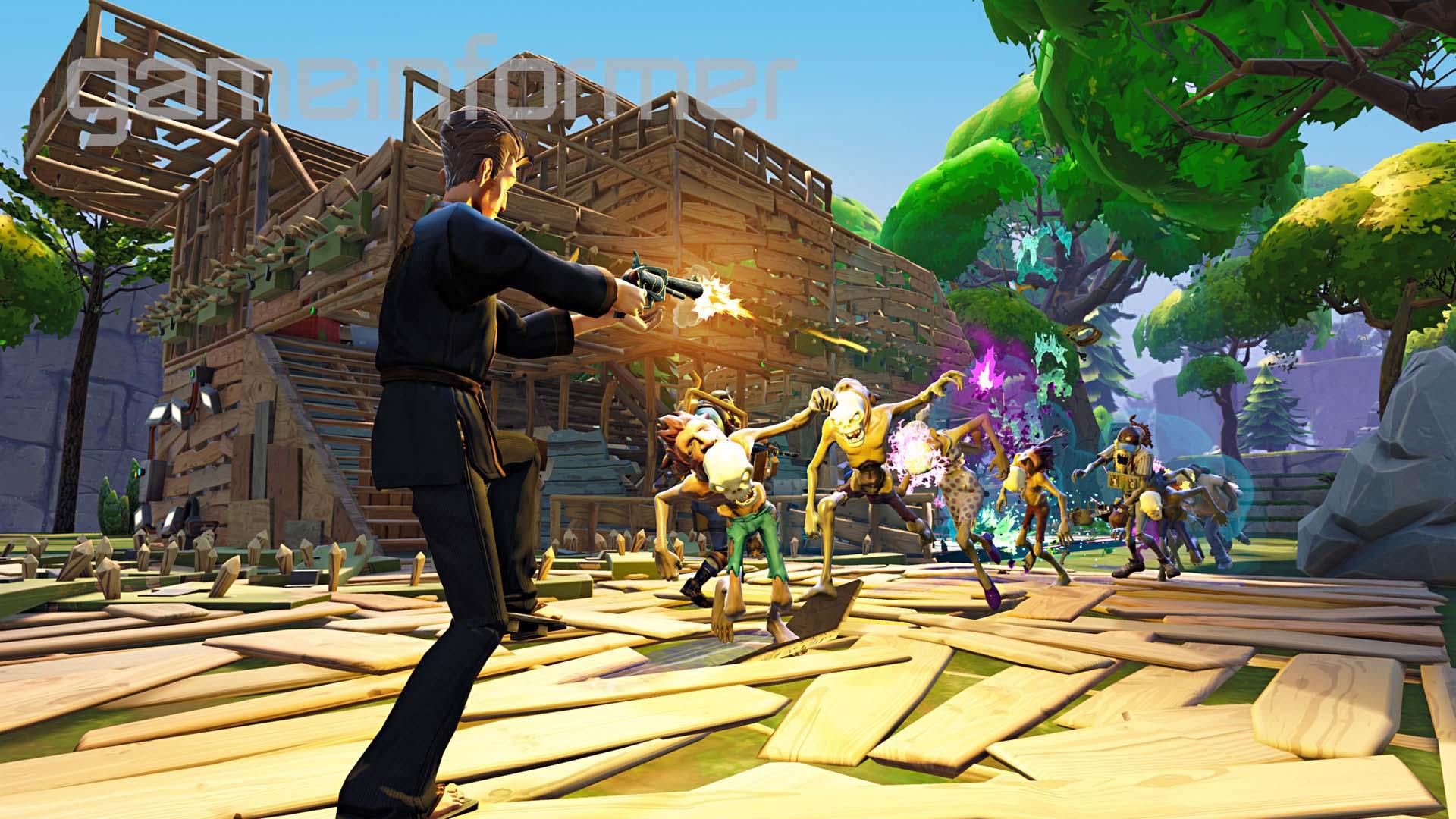 Fortnite fait la couverture de Game Informer   Xbox One ...