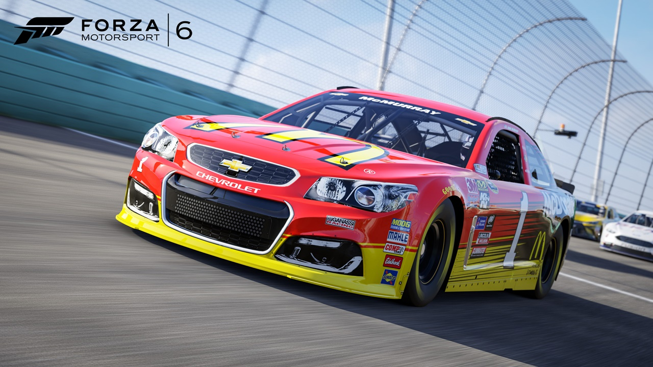 forza 6 l extension nascar arrive aujourd hui xbox one xboxygen. Black Bedroom Furniture Sets. Home Design Ideas