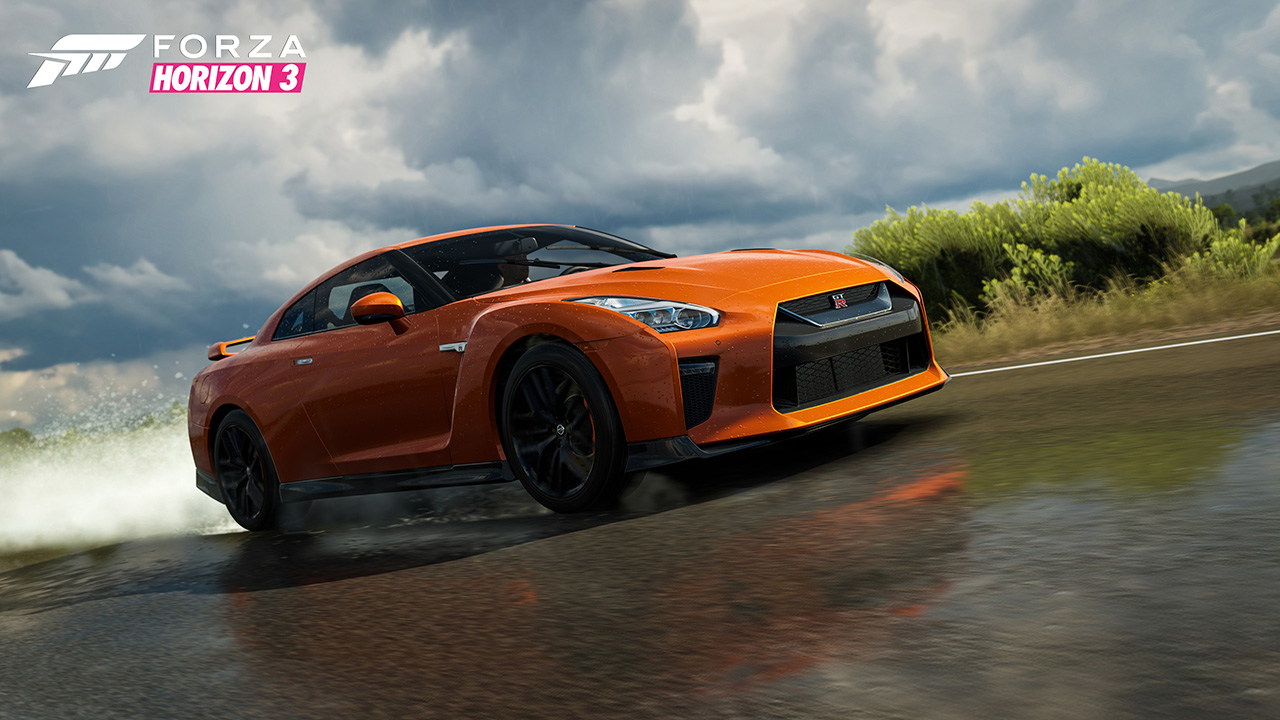 forza horizon 3 d voile de nouvelles voitures 2017 my nissan gtr et images xbox one xboxygen. Black Bedroom Furniture Sets. Home Design Ideas
