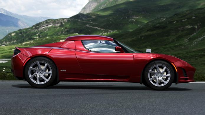 Forza 4 La Tesla Roadster Sport En Image Xbox One