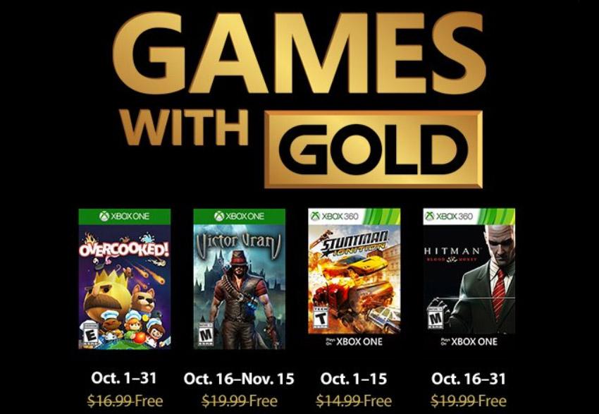 Games With Gold octobre 2018 : la liste des jeux Xbox gratuits