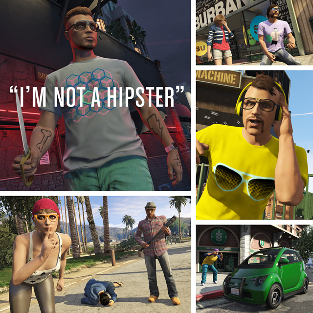 Gta V Joue Les Hipsters Xbox One Xboxygen