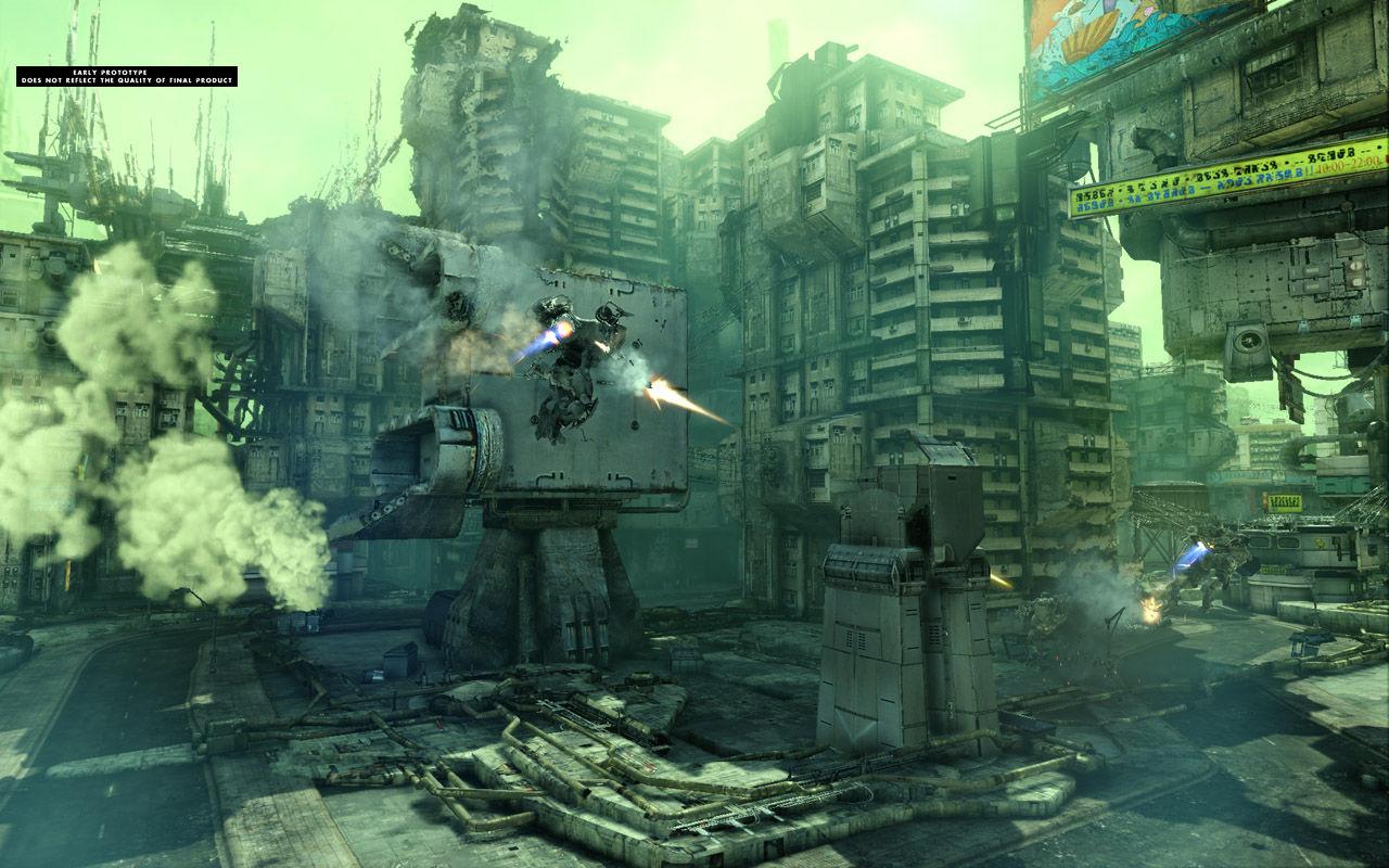 Hawken, Mech combat FPS Hawken-4