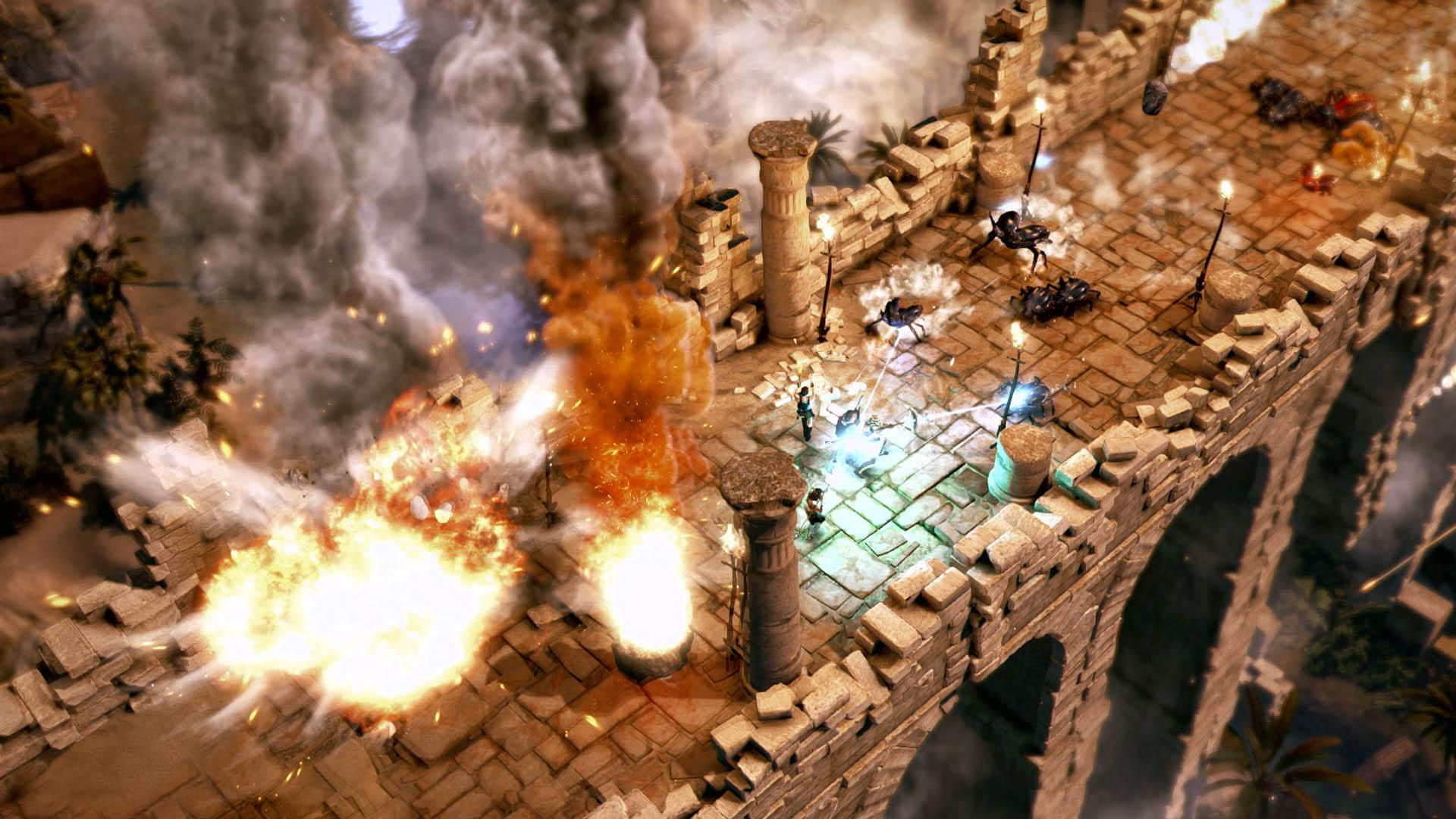 Test lara croft et le temple d osiris xbox one xboxygen for L aventure interieur