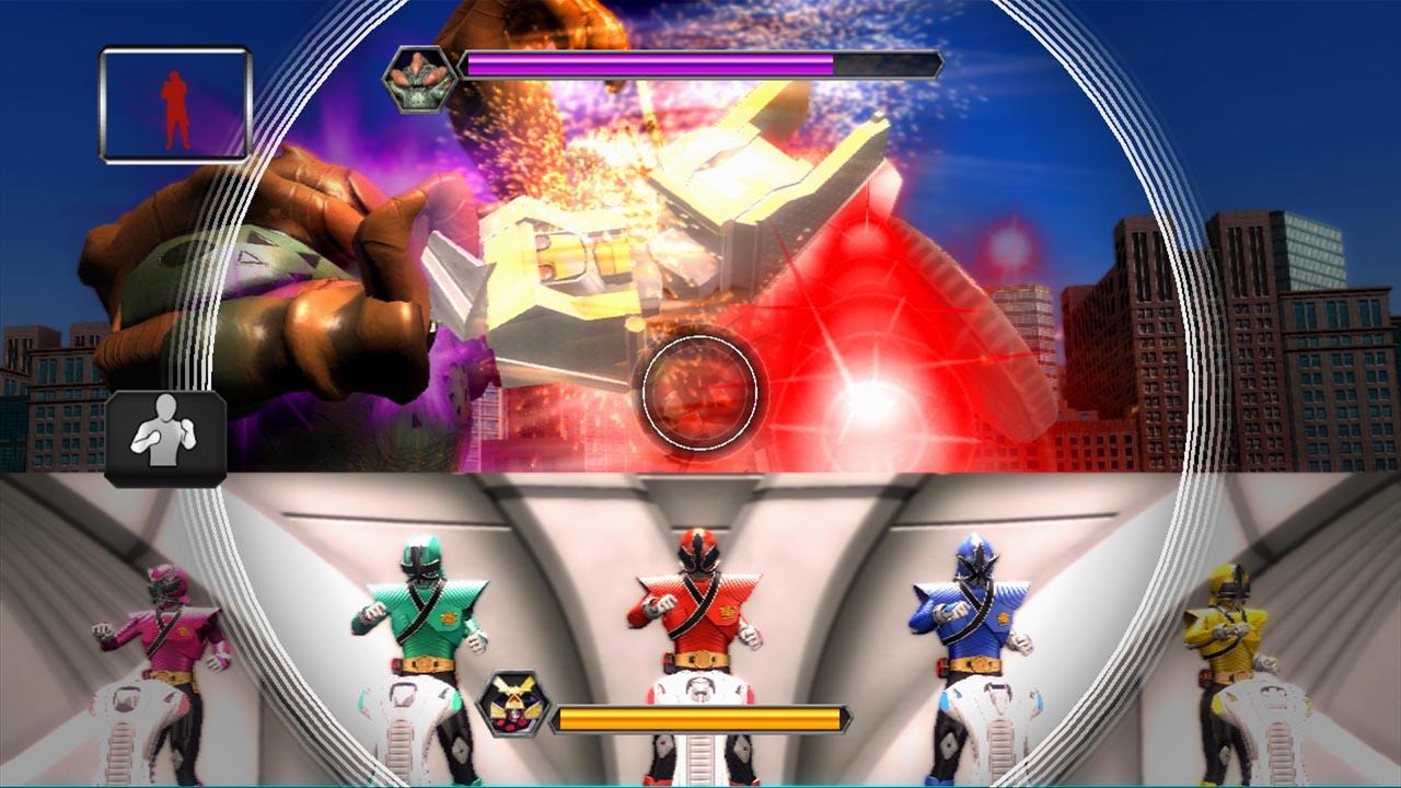 Namco annonce power rangers super samurai xbox one - Jeux de power rangers super samurai ...