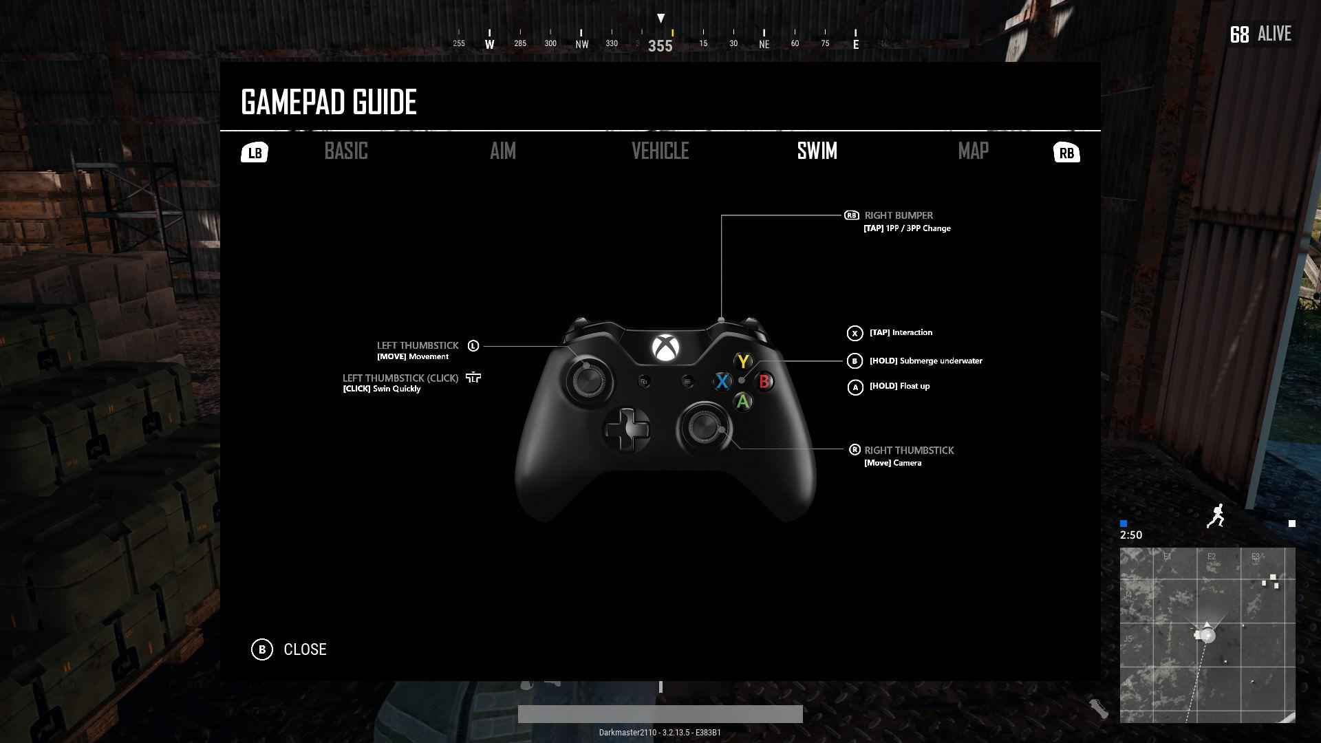 Pubg Les Menus Xbox One En Image Et Gameplay De La Carte