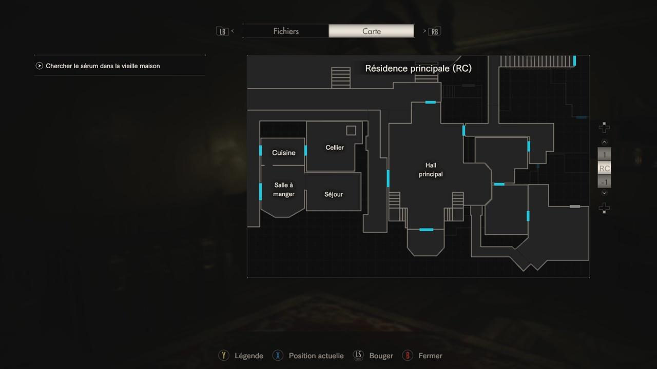plan maison resident evil 7