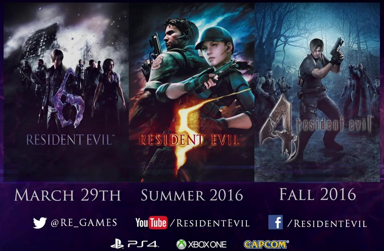 Resident evil 4 5 et 6 pr vus sur les consoles actuelles - Xboxygen le site consacre aux consoles xbox et xbox ...