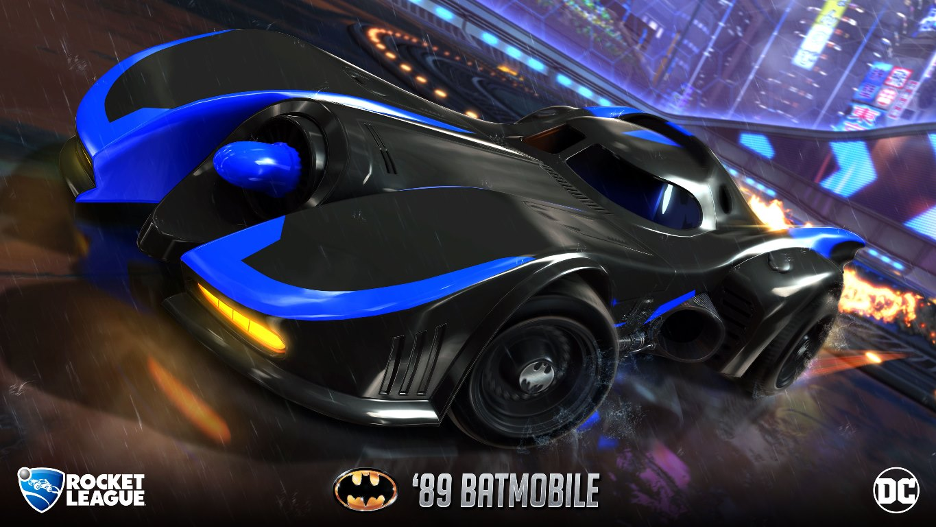 Rocket League Dc Heroes Relation Force