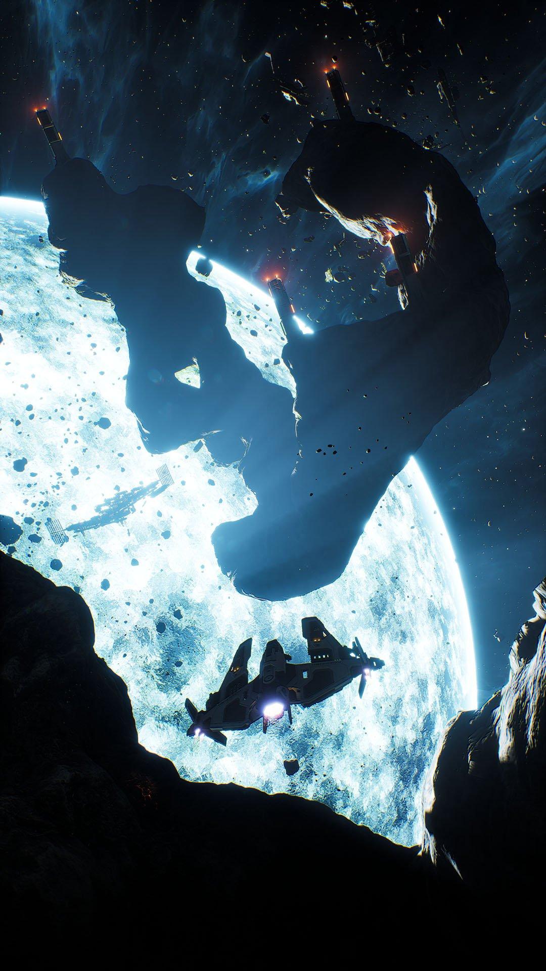 Premières images spatiales du nouveau jeu de Rockfish
