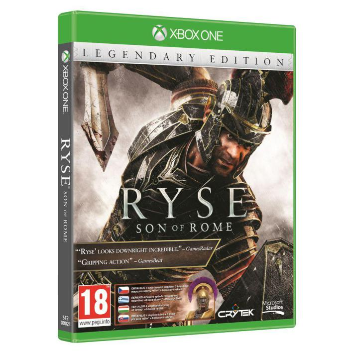 News  Ryse Son of Rome Legendary Edition liste sur un site marchand belge