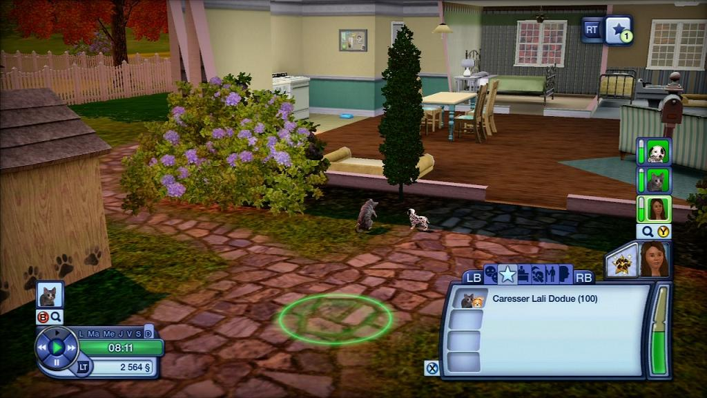 Test sims 3 animaux cie xbox one xboxygen for Construire une maison sims 3 xbox 360