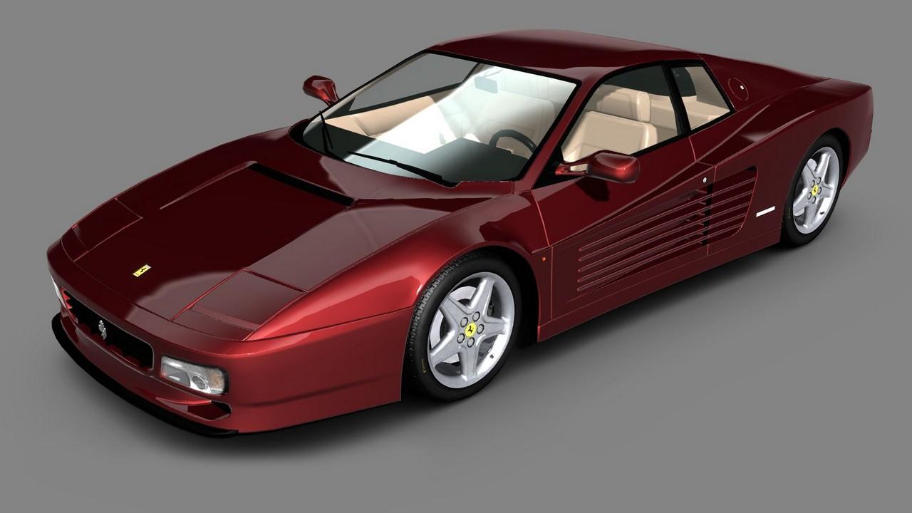 Une liste de bolides pour Test Drive : Ferrari Racing ...
