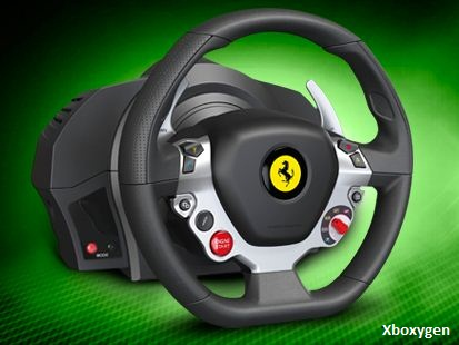 thrustmaster annonce un volant xbox one xbox one xboxygen. Black Bedroom Furniture Sets. Home Design Ideas