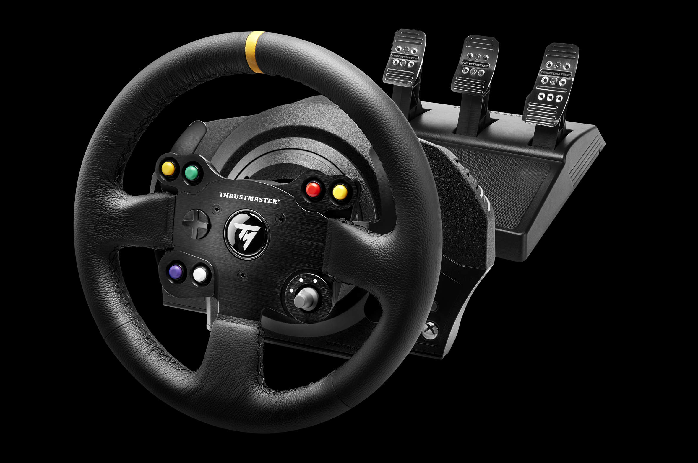 thrustmaster annonce le volant xbox one tx racing wheel leather edition xbox one xboxygen. Black Bedroom Furniture Sets. Home Design Ideas