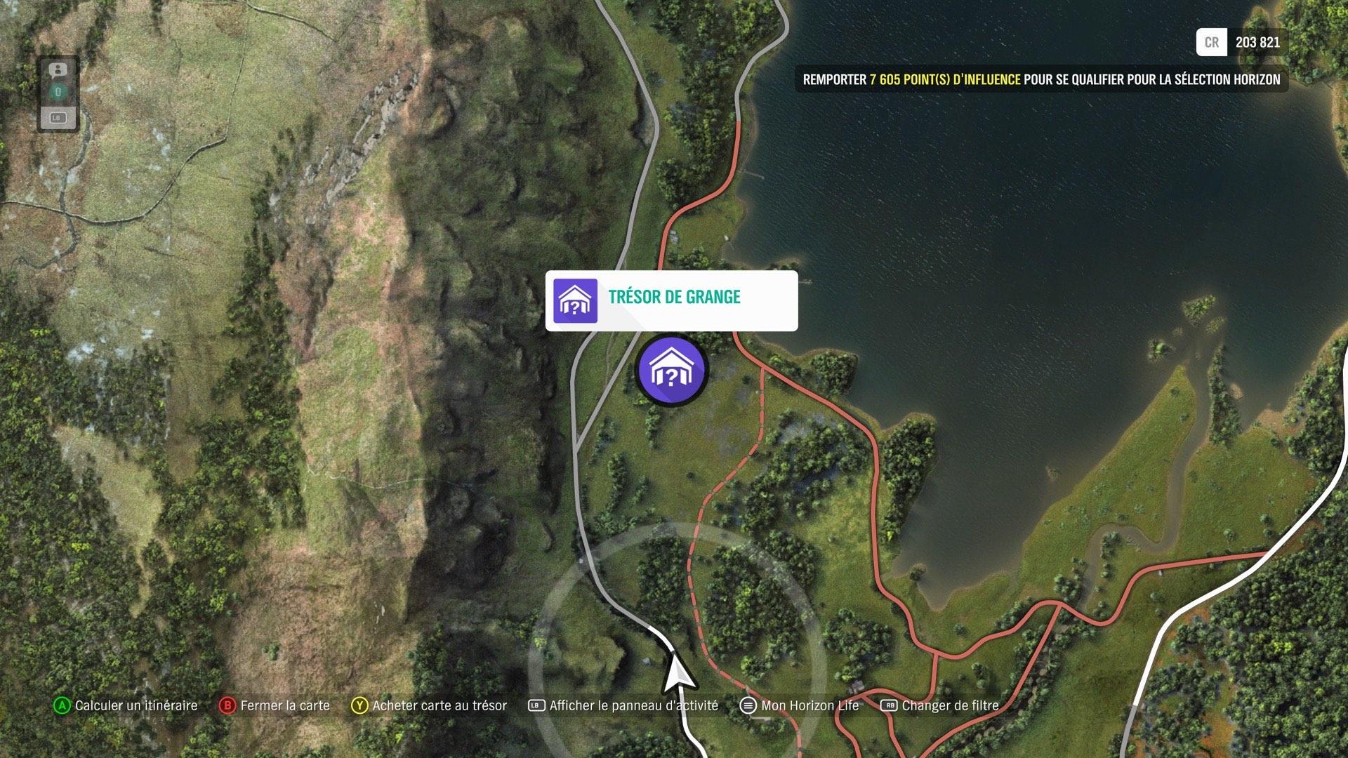 Forza Horizon 4 : notre guide pour trouver les 15 trésors de