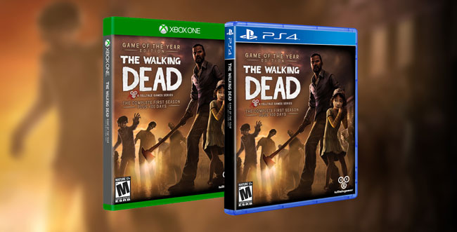 The Walking Dead et The Wolf Among Us sur Xbox One et PS4