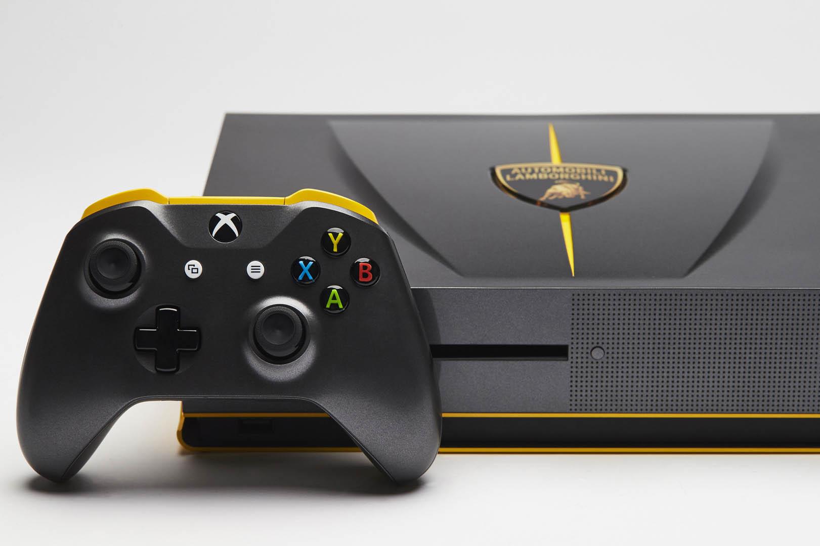 A La D 233 Couverte De La Xbox One S Lamborghini Centenario