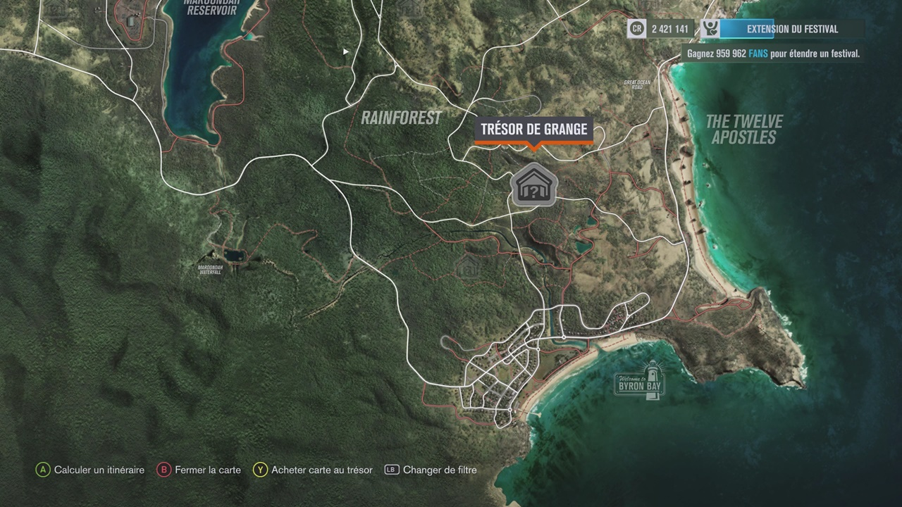 MAJ] Forza Horizon 3 : notre guide pour trouver les 15 (+4) trésors