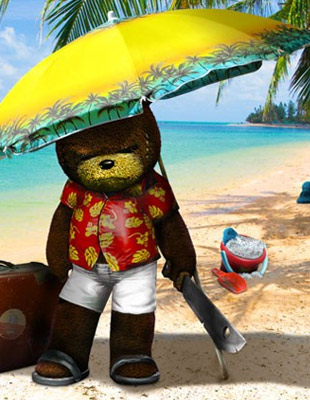 test naughty bear panic in paradise xbox one xboxygen. Black Bedroom Furniture Sets. Home Design Ideas