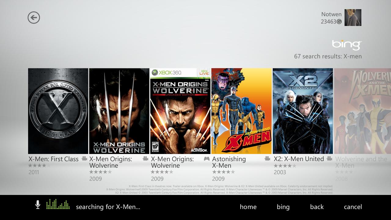 Nouvelle interface Xbox 360 XboxDashboard