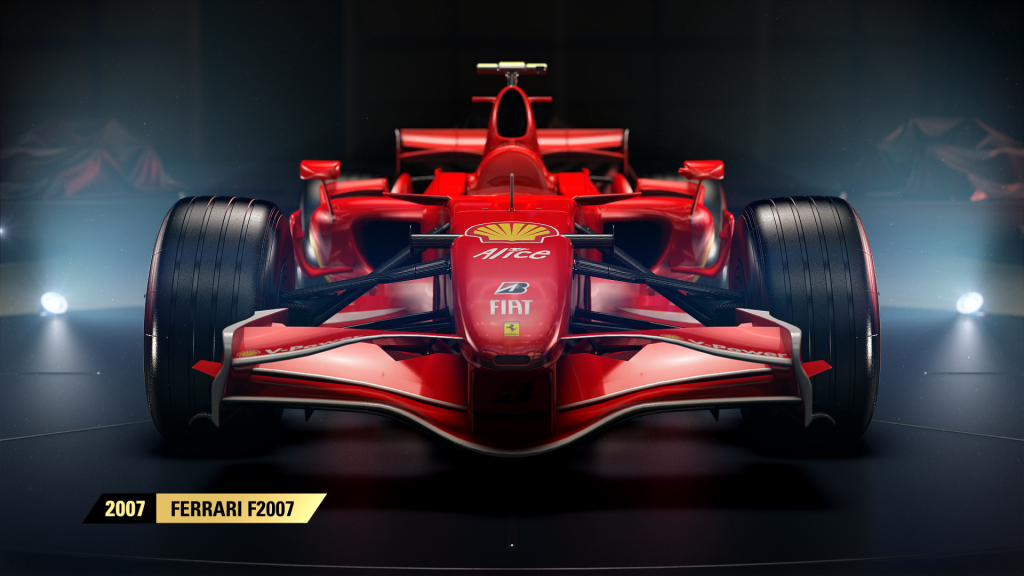 f1 2017 proposera des voitures l gendaires dont 4 ferrari pr sent es en video xbox one xboxygen. Black Bedroom Furniture Sets. Home Design Ideas
