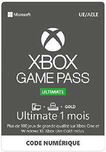 acheter xbox game pass 1 mois