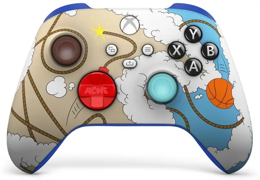 xbox_x_nike_space_jam_manette_ De nouveaux modèles pour les manettes Xbox!