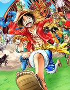 logo One Piece Unlimited World Red