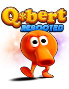 logo Q*bert REBOOTED : The XBOX One @ !# ?@ ! Edition