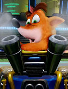 logo Crash Team Racing Nitro-Fueled