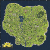 Carte Fortnite avant