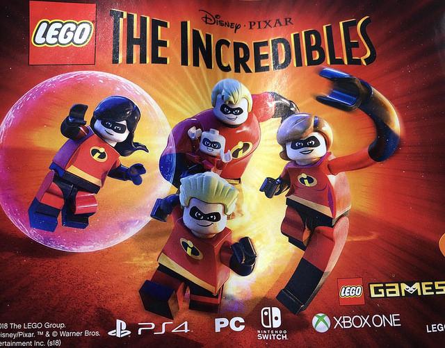 Le jeu LEGO : Les Indestructibles se montre en avance