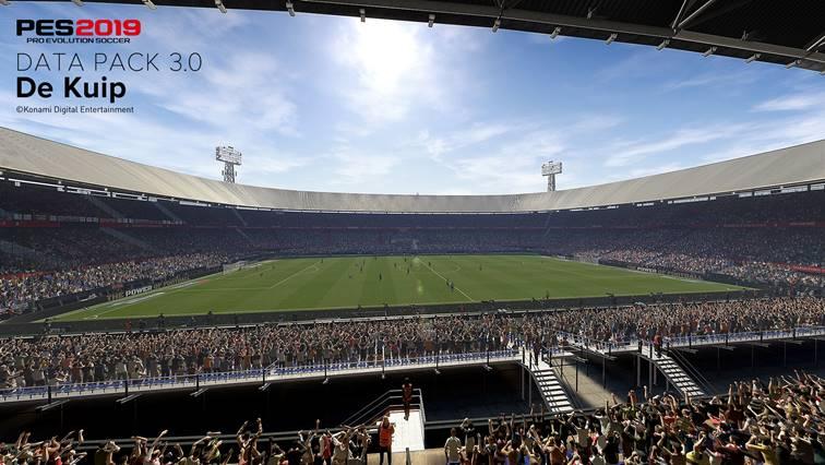 PES 2019 : stades, maillots, chaussures... le Pack de Données 3.0 détaillé