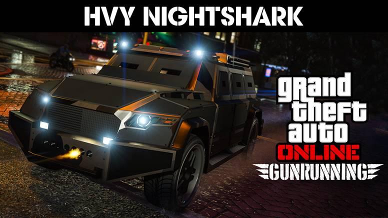 Le HVY Nightshark, un nouveau mode rivalité et des bonus disponibles