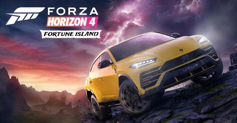 X018 - Le DLC Fortune Island de Forza Horizon 4 roulera en décembre