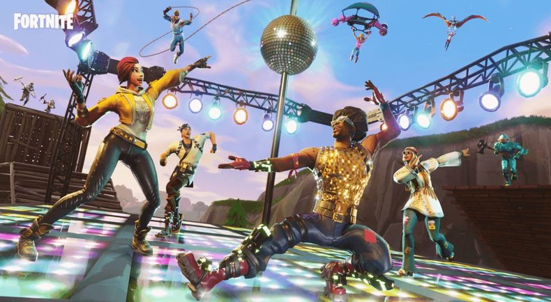 Fortnite arrive en version physique avec le pack : Froid Eternel