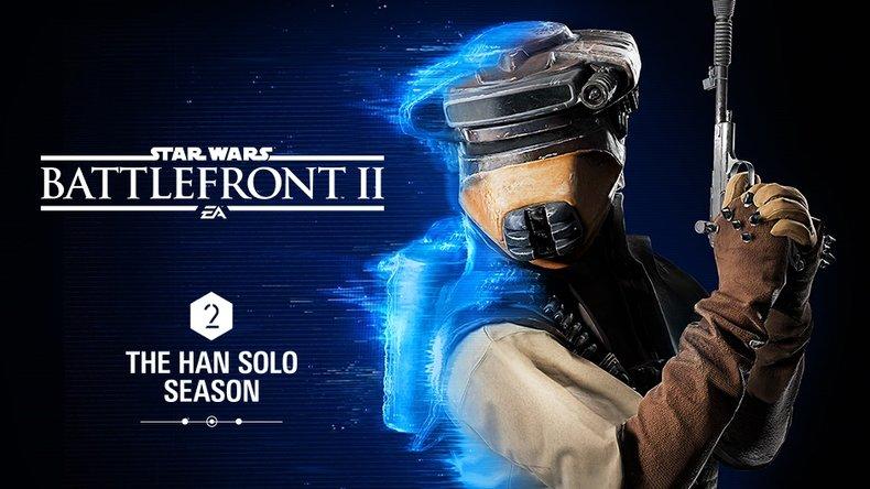 Star Wars Battlefront 2 - Le contrebandier Han Solo à l'honneur