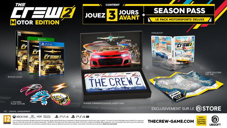 The Crew 2 : Ubisoft dévoile sa Motor Edition