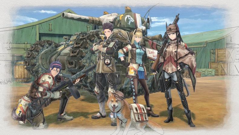Valkyria Chronicles 4 - Annonce de sortie au Japon et en Europe